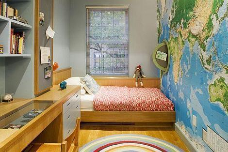 Dormitorio juveniles estrecho