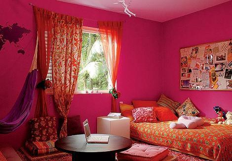 Dormitorio niña oriental