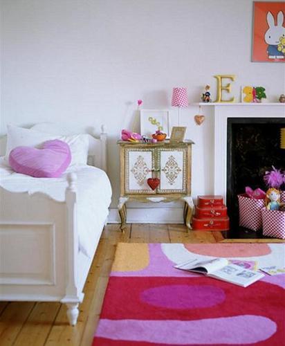 Habitación de niña ecléctica