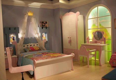 Dormitorio Disney princesas