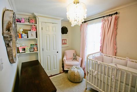 Dormitorio rústico para bebé