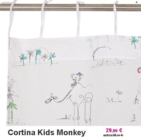 rebajas zara home kids cortinas