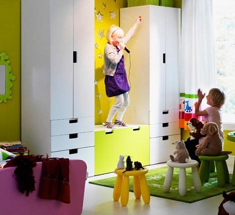 armario ikea niños