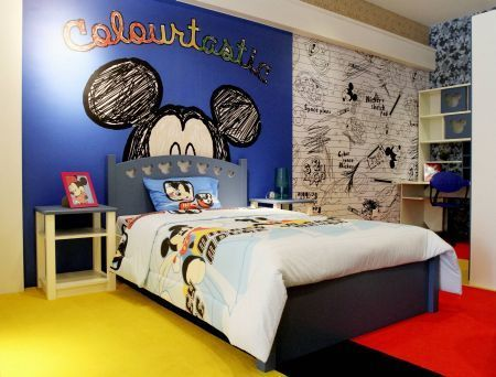 ideas decorar habitación disney mickey