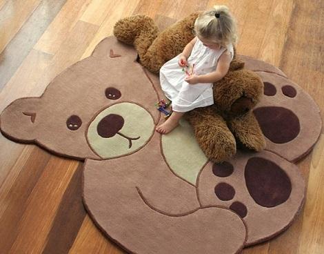 comprar moqueta de oso habitación infantil