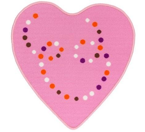 alfombras de Ikea para niños corazón