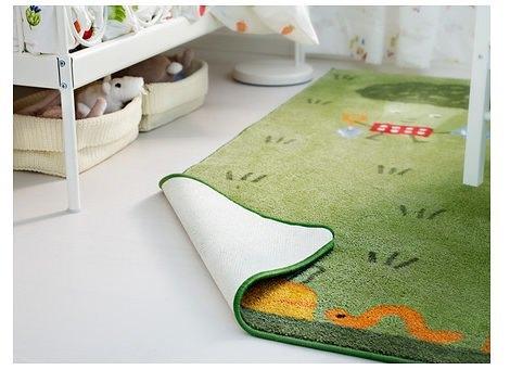 alfombra de ikea niños Torva