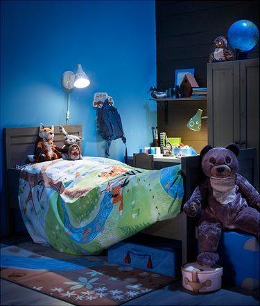 lafombras de Ikea para niños Vandrig