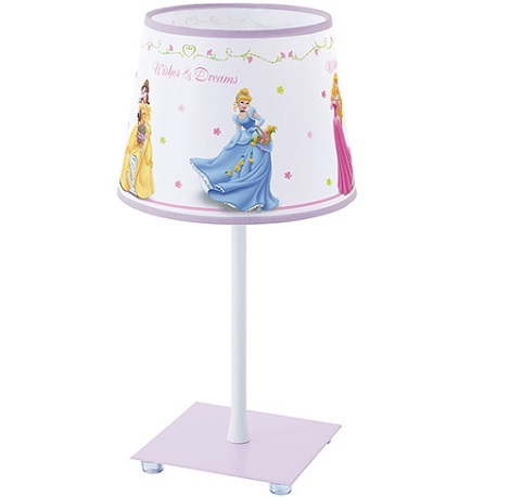 lámpara sobremesa princesas disney leroy merlin