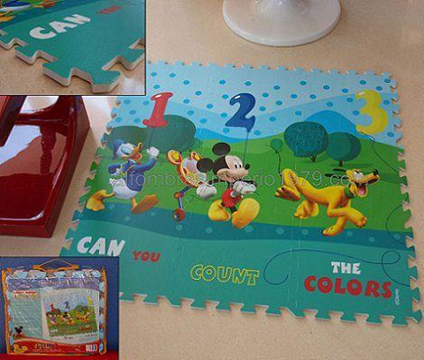 alfombra puzzle disney