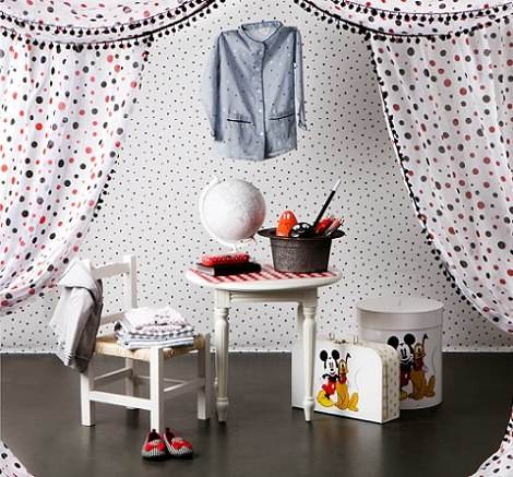 mickey mouse zara home