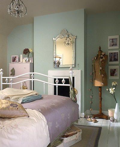 cabecero de forma dormitorio vintage