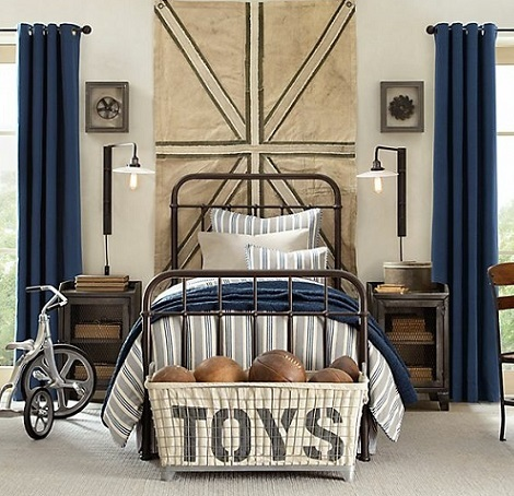 habitación vintage chico