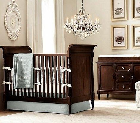 habitaciones de estilo rústico para bebés