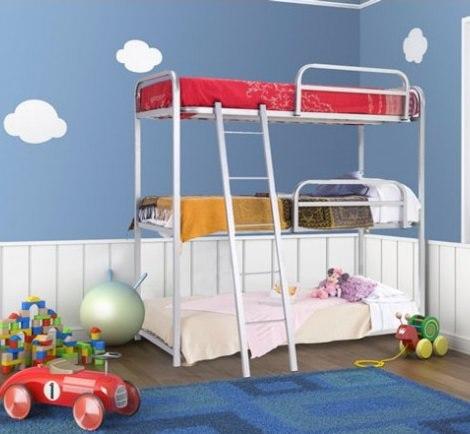 Dónde Puedes Encontrar Literas Triples Habitación Infantil